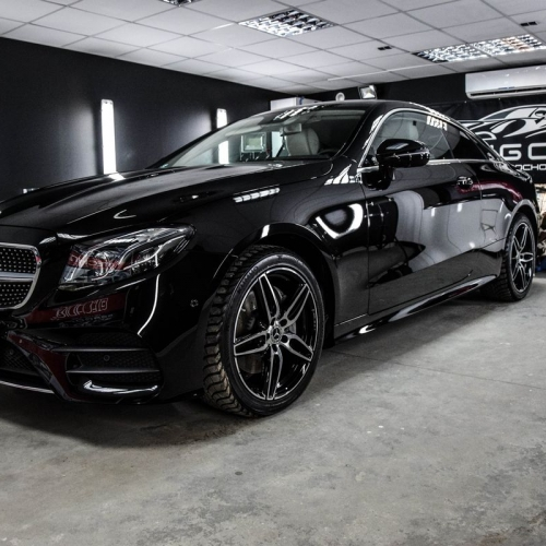 Mercedes C coupe black