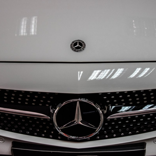 Mercerdes C Coupe Biały