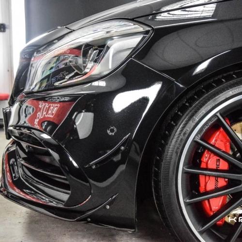 Mercedes A AMG black