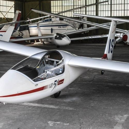 Szybowiec  Junior Aeroklubu Ziemi Mazowieckiej w Płocku